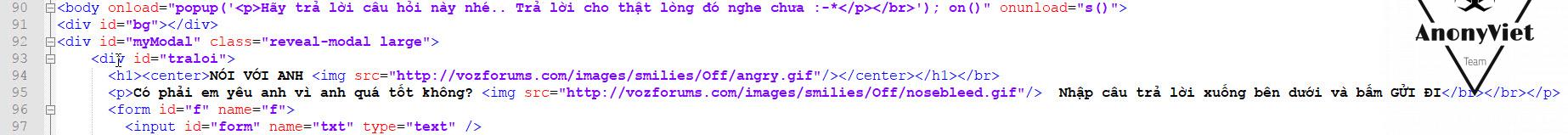 Code Website Tỏ Tình chắc chắn thành công 100% 26