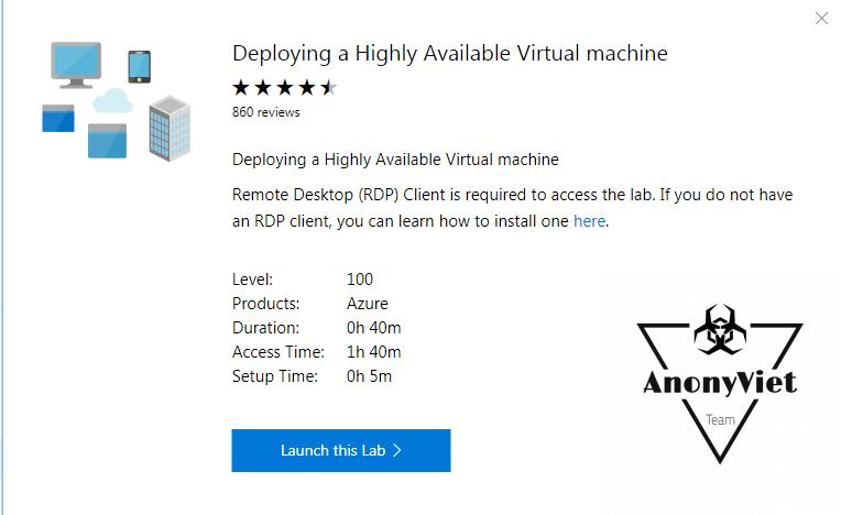 4 - Hướng dẫn đăng ký VPS miễn phí của Microsoft