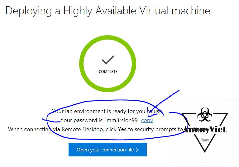 6 - Hướng dẫn đăng ký VPS miễn phí của Microsoft
