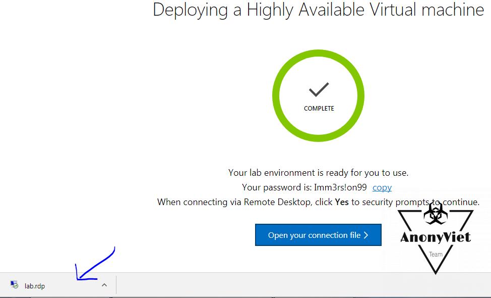 7 - Hướng dẫn đăng ký VPS miễn phí của Microsoft