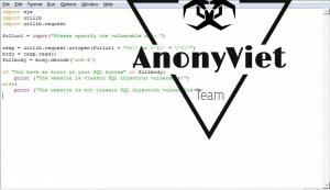 Hướng dẫn code kiểm tra lỗ hổng bảo mật Sql Injection với Python script và cách phòng chống. 26