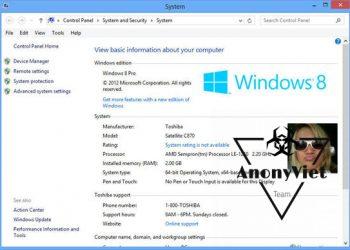 Tools đổi thông tin OEM máy tính 5
