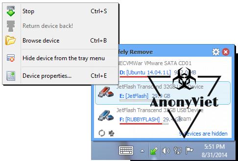 Nhận ngay bản quyền USB Safely Remove 11