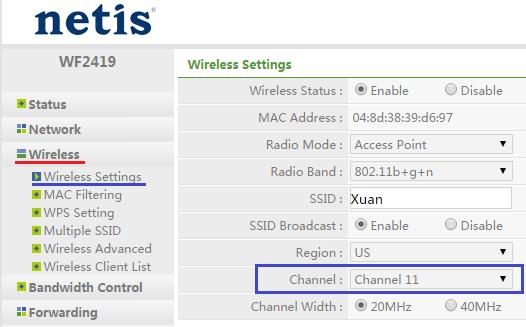 thay doi channel wifi - Wifi của bạn sẽ mạnh hơn nếu chọn đúng Channel