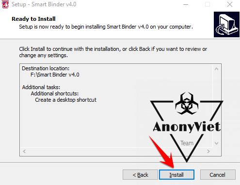 Cách đính kèm file virus vào file .exe khác 38