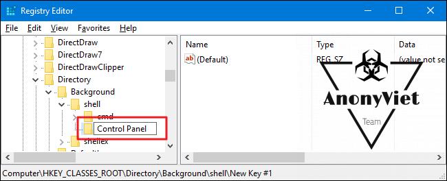 acp 3 1 650x264 - Hướng dẫn thêm Control Panel vào Menu Right Click
