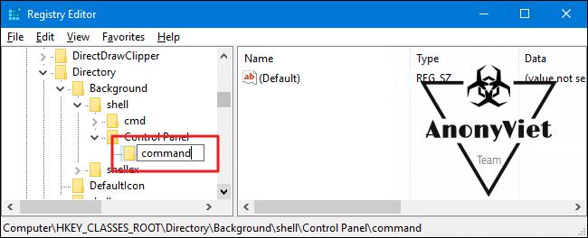 acp 4 650x264 - Hướng dẫn thêm Control Panel vào Menu Right Click