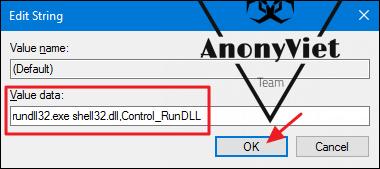 acp 6 - Hướng dẫn thêm Control Panel vào Menu Right Click