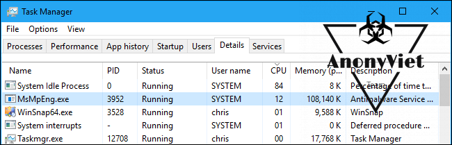 """""""Antimalware Service Executable"""" là gì? Tại sao nó chiếm nhiều CPU 7"""
