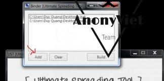 Đính kèm Virus vào hình ảnh với Ultimate Spreading Tool 2