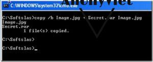 Cách giấu file bằng hình ảnh sử dụng Command Prompt 11