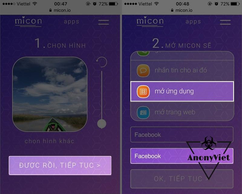 2 1292x1037 800 resize - Hướng dẫn dùng ảnh riêng để đổi icon Facebook trên điện thoại