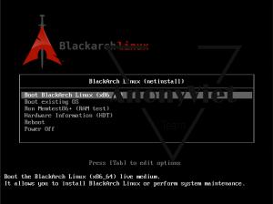 BlackArch Linux 4 300x224 - Hướng dẫn tải và cài đặt hệ điều hành BlackArch Linux trên VituralBox