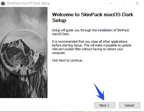 Hướng dẫn đổi giao diện Windows sang MacOS 33