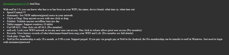 4 1 - NetCut phiên bản mới siêu mạnh