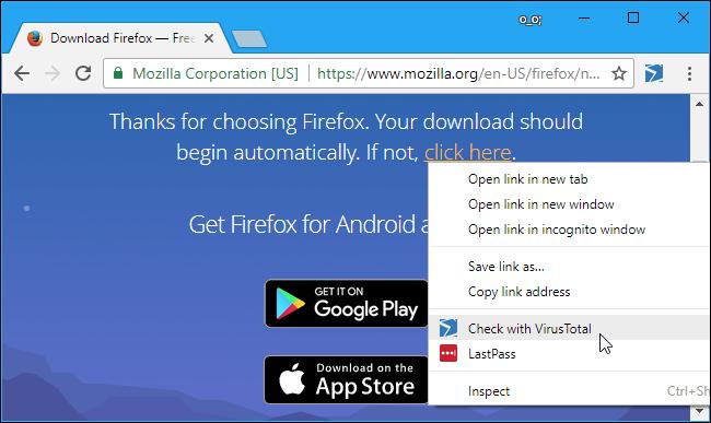 Cách kiểm tra Virus của File trước khi Download với VirusTotal 24
