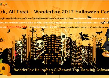 Nhận quà Halloween cực khủng từ hãng phần mềm WonderFox Soft 2