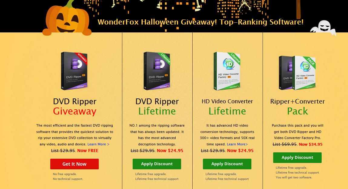 Nhận quà Halloween cực khủng từ hãng phần mềm WonderFox Soft 18