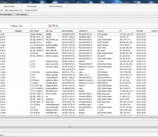 Tool khai thác lỗi SQL Injection với SQLi Dumper v8.2 Full 8
