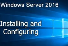 Lab cài đặt và cấu hình Windows Server 2016
