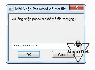 Share source code Autoit giấu file bằng Password