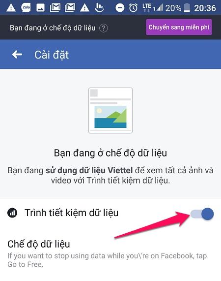 Cách lướt Facebook miễn phí trên Viettel 3G - 4G
