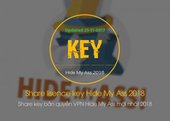 Share key bản quyền VPN Hide My Ass mới nhất 2018 3