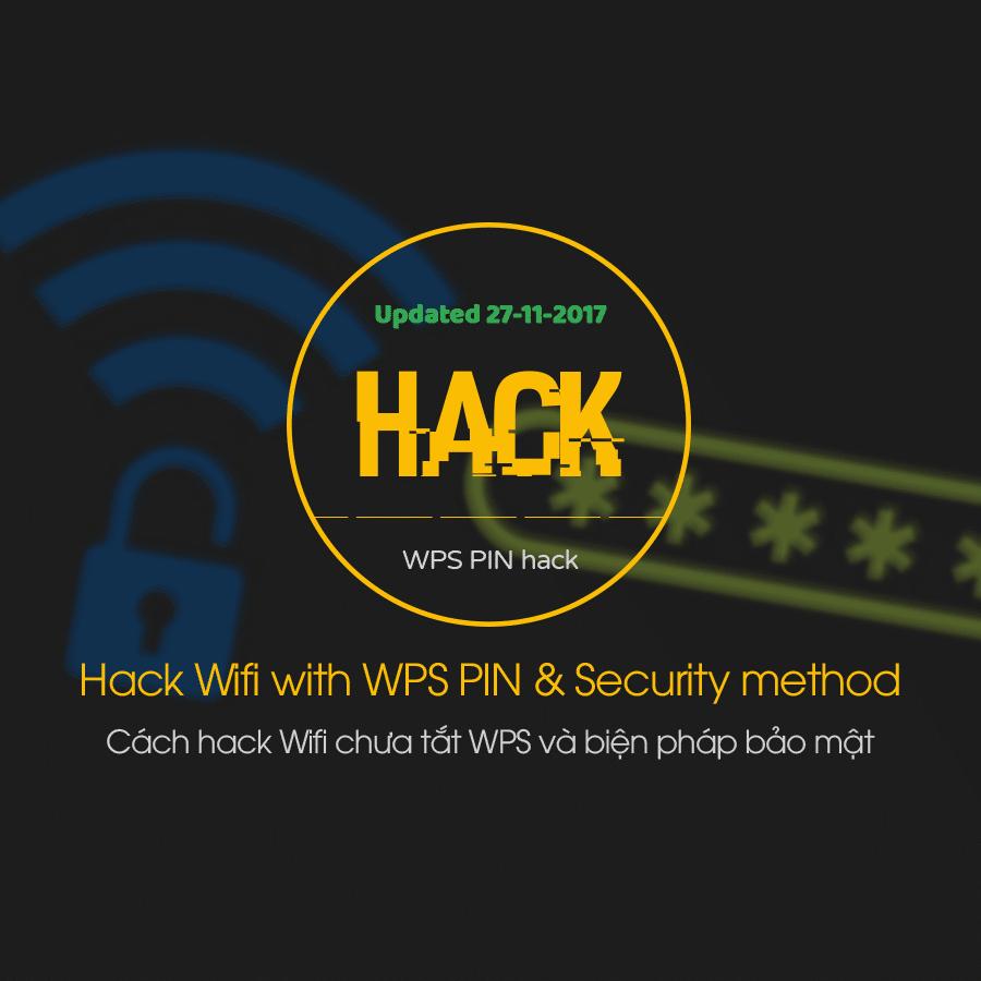 Cách hack Wifi chưa tắt WPS và biện pháp bảo mật - AnonyViet
