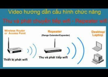 Repeater là gì? Cách cấu hình Wifi Xiaomi Repeater version 2 3