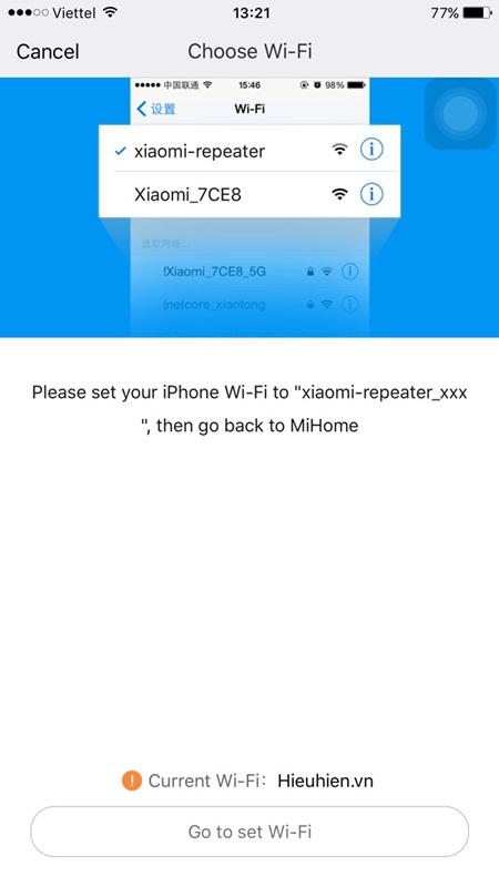 huong dan ket noi bo khuech dai song wifi xiaomi mi wifi repeater 014 - Repeater là gì? Cách cấu hình Wifi Xiaomi Repeater version 2