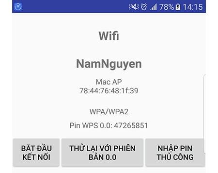 wifi nha ban co the bi hack trong mot not nhac neu khong tat wps 4 - Cách hack Wifi chưa tắt WPS bằng điện thoại