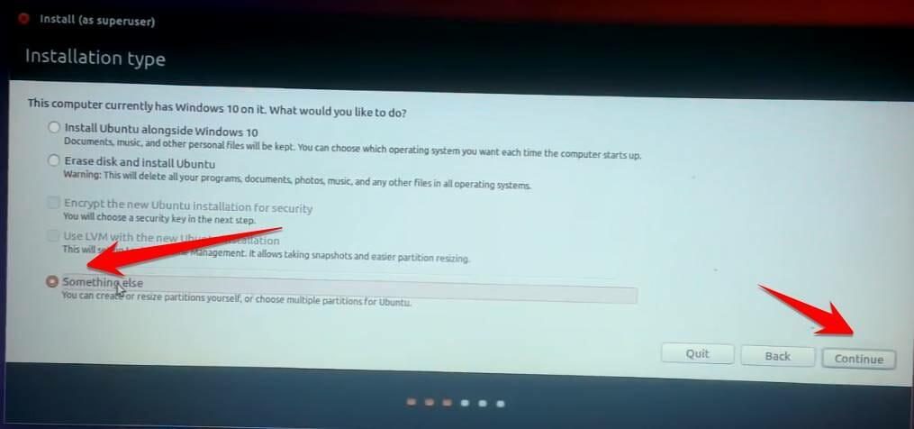 11 - Hướng dẫn cài Ubuntu song song với Windows 7/8/10 UEFI và GPT