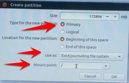 14 - Hướng dẫn cài Ubuntu song song với Windows 7/8/10 UEFI và GPT
