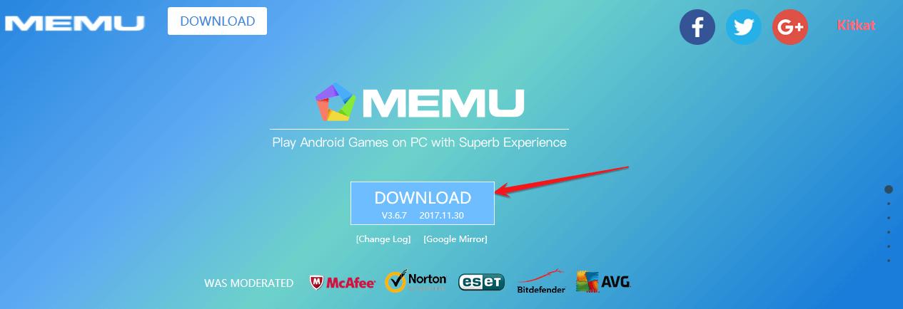 Phần mềm giả lập android trên máy tính - Memu