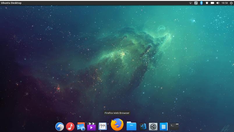 đổi giao diện ubuntu sang MacOS