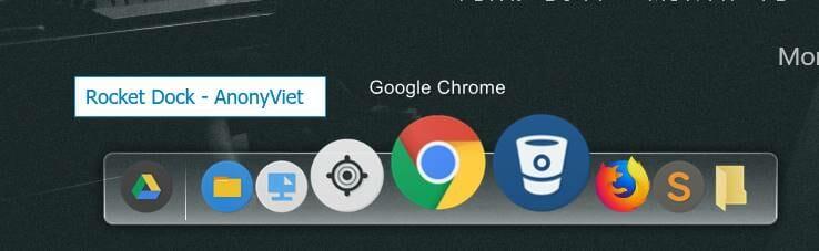 cách tùy biến desktop windows với rocket dork và rainmeter