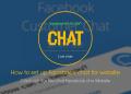 Cách thêm livechat facebook cho website