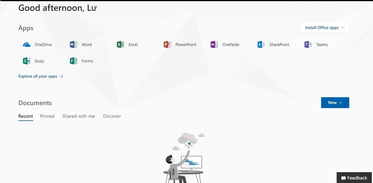 hướng dẫn đăng kí tài khoản Onedrive 5TB miễn phí