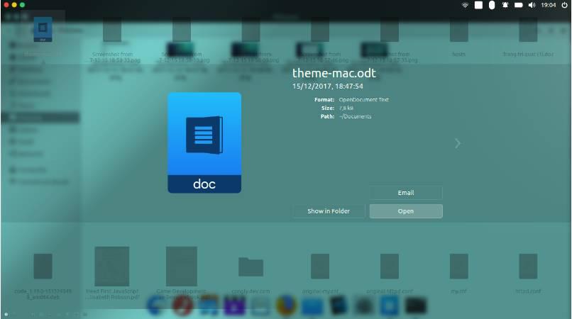 uuu - Hướng dẫn cài đặt theme MacOS trên Ubuntu