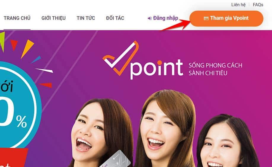 v point 1 - Hướng dẫn cách nhận 50.000đ từ VPoint