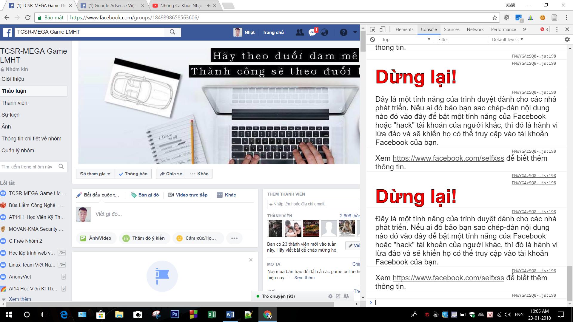 Cách thêm bạn bè vào Group Facebook với 1 click