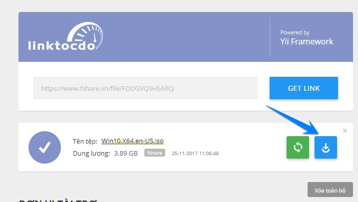 Hướng dẫn Get link Fshare, 4Share không dính quảng cáo