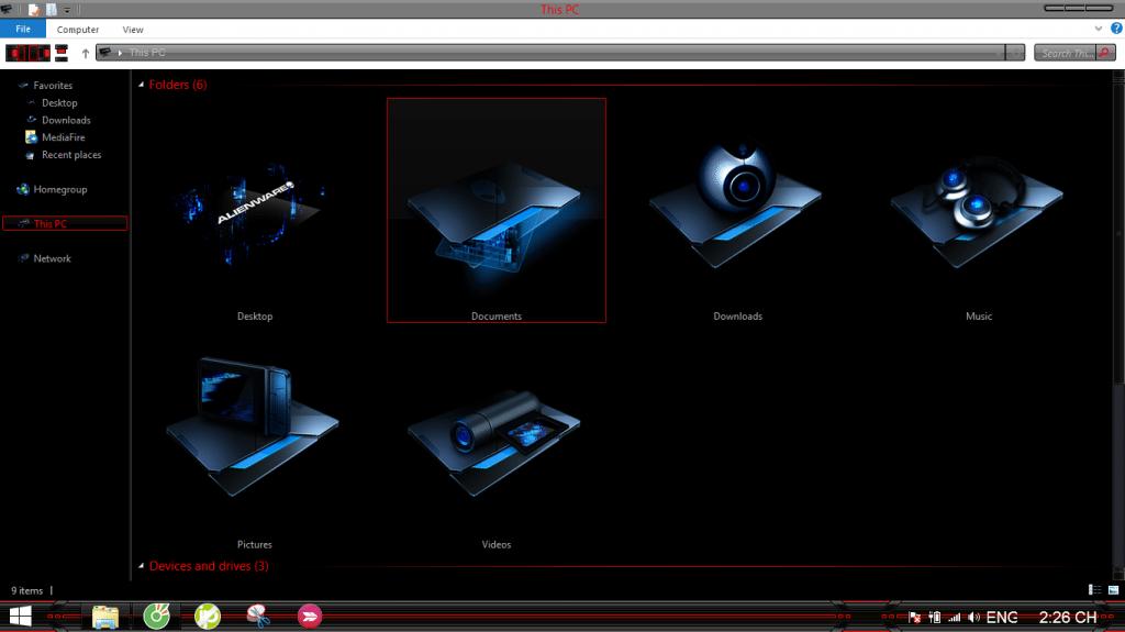 7 1024x575 - Hướng dẫn thay đổi Theme cực ngầu cho Windows 7/8/8.1 từ A-Z