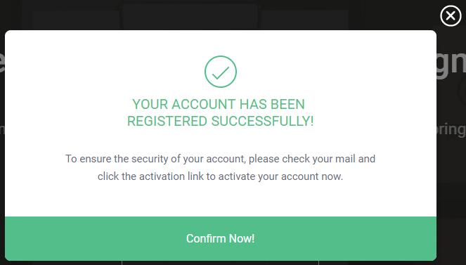 Xác nhận Email đăng ký tài khoản DesignEvo Logo