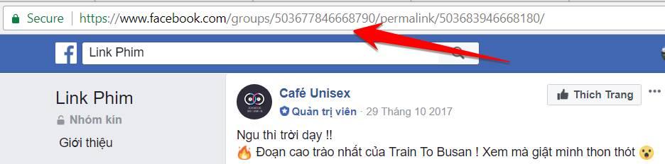 tab - Cách Download Video Facebook ở Nhóm kín