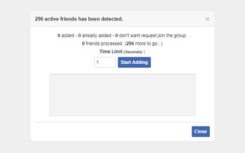 Cách thêm tất cả bạn bè vào Group Facebook với 1 Click 3