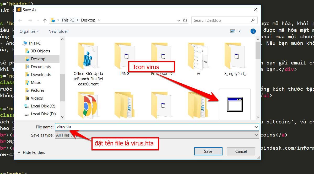 virus ransomware hta