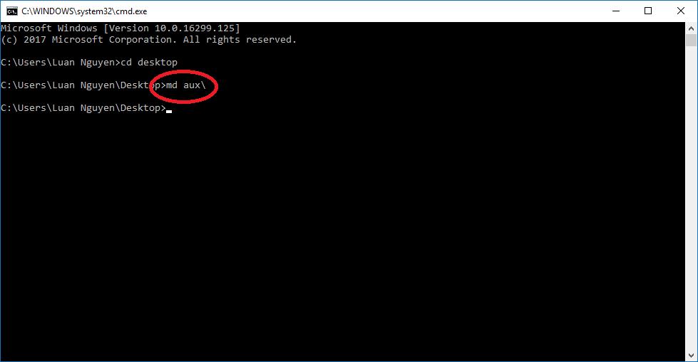 """Cách tạo ra thư mục """"bất tử"""" trên windows 27"""