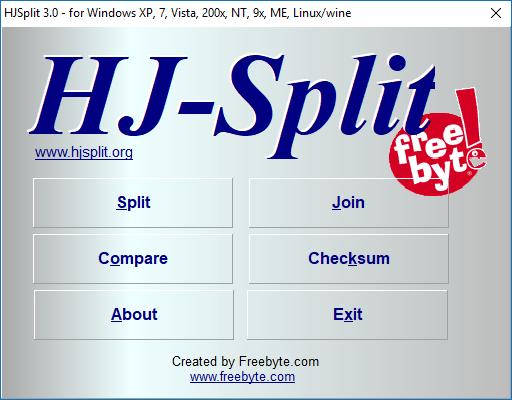 Cách cắt, ghép File đơn giản bằng phần mềm HJsplit