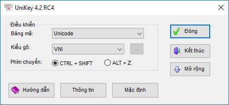 Tổng hợp những phần mềm cần thiết cho Windows - Unikey